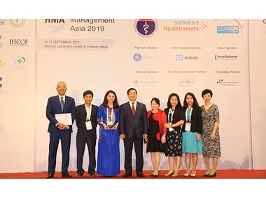 Bệnh viện Quốc tế Hạnh Phúc nhận hai giải thưởng về quản lý chất lượng