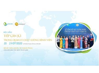 Hội thảo: Tiếp cận JCI trong quản lý chất lượng bệnh viện, lần đầu tiên được tổ chức bằng tiếng Việt tại Việt Nam