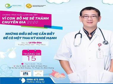 [HEALTHTALK]: Những điều bố mẹ cần biết để có một thai kỳ khỏe mạnh