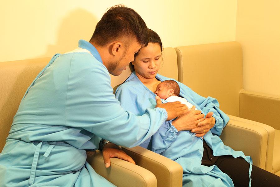 Nuôi dưỡng thành công bé sinh non 26 tuần tuổi mà không dùng kháng sinh