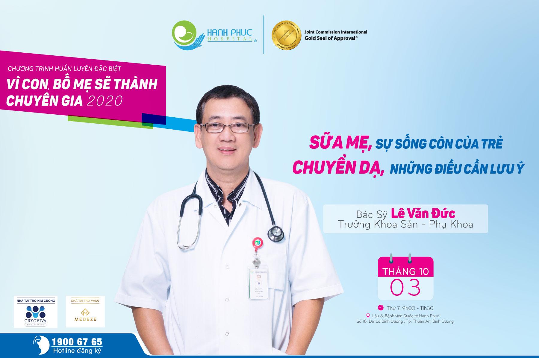 [HEALTH TALK THÁNG 10/2020]: Sữa mẹ, sự sống còn của trẻ & Chuyển dạ, những dấu hiệu cần biết