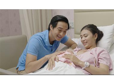 Bệnh viện Quốc tế Hạnh Phúc vận hành giải pháp thẻ đeo thông minh giúp đảm bảo an toàn cho trẻ sơ sinh ngay từ lúc chào đời
