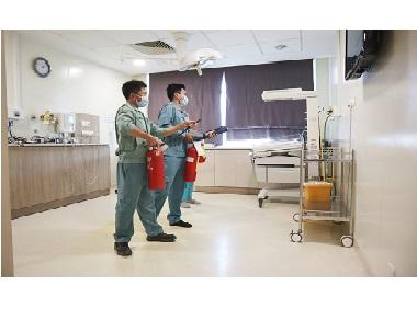 Bệnh viện Quốc tế Hạnh Phúc diễn tập phòng cháy, chữa cháy – Code Red