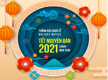[Thông báo] Lịch nghỉ Tết Nguyên Đán 2021