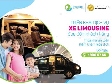 Dịch vụ xe limousine đưa đón khách hàng mùa dịch