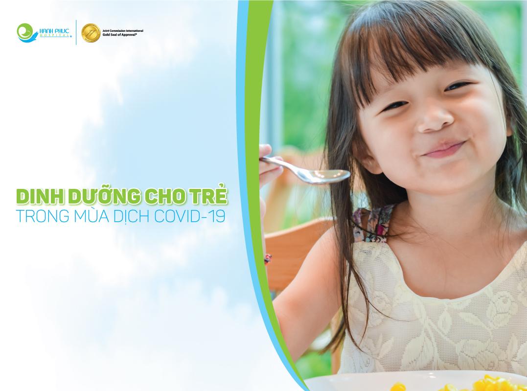 Nguyên tắc dinh dưỡng cho trẻ trong dự phòng COVID-19